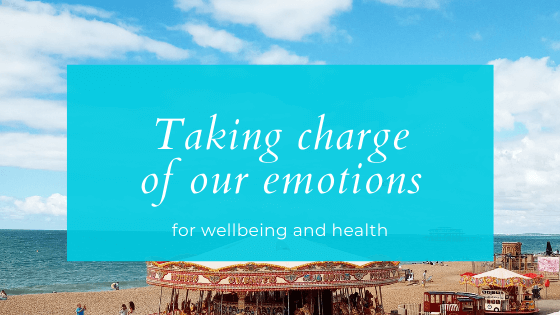 Taking charge of our emotions for wellbeing and health